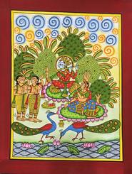 Radha-Krishna in Madhuvan