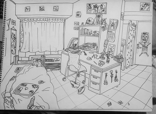 Interior Assignment: dorm room!