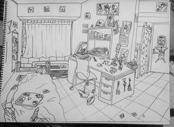 Interior Assignment: dorm room!
