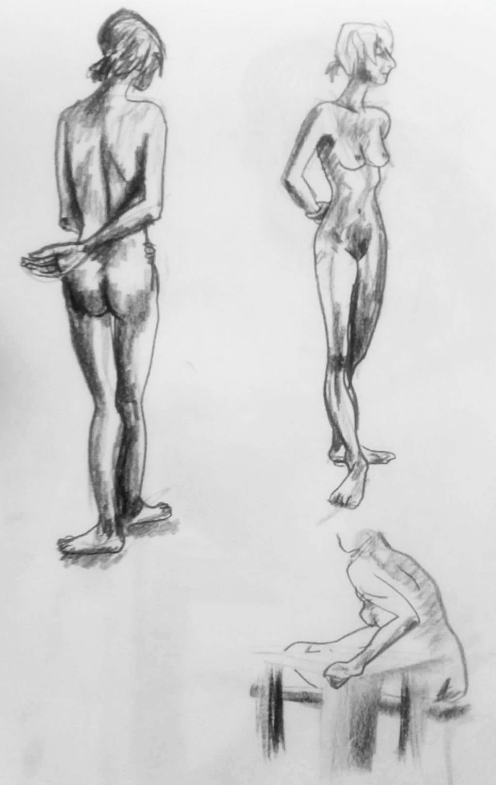 Two 5-minute poses