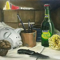 First still life painting in years, and