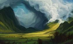 Study of Bierstadt