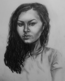 Value Self Portrait- 3 hours
