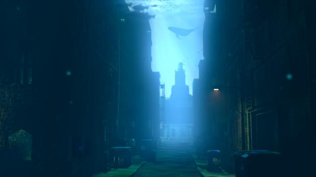 VRay Underwater Scene