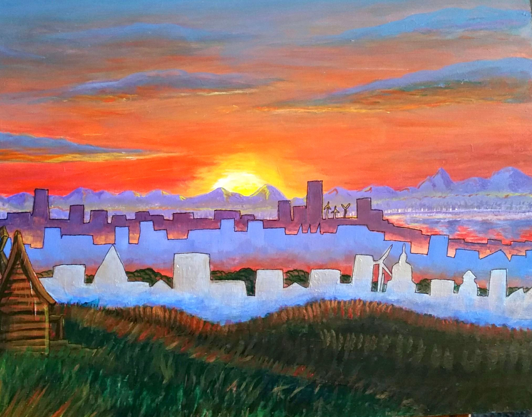 Sunrise Over Cyburg