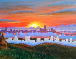 Sunrise Over Cyburg