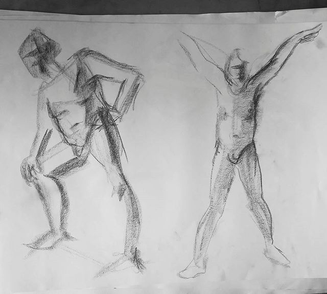 2 minute figure studies