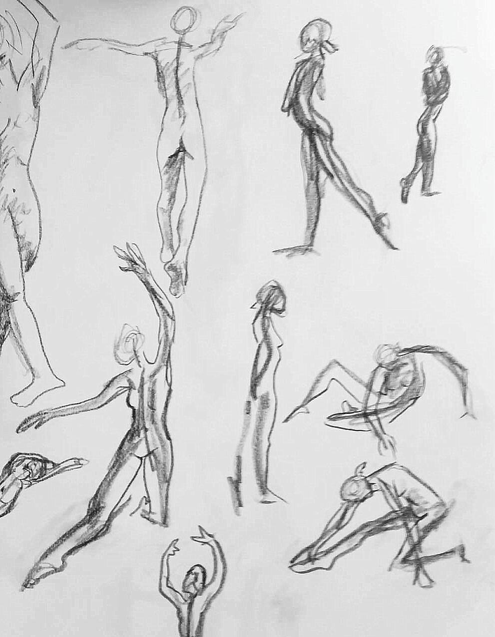 30 second poses