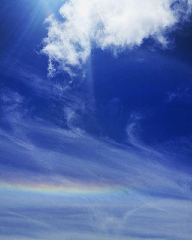 (Upsidedown rainbow) #rainbow