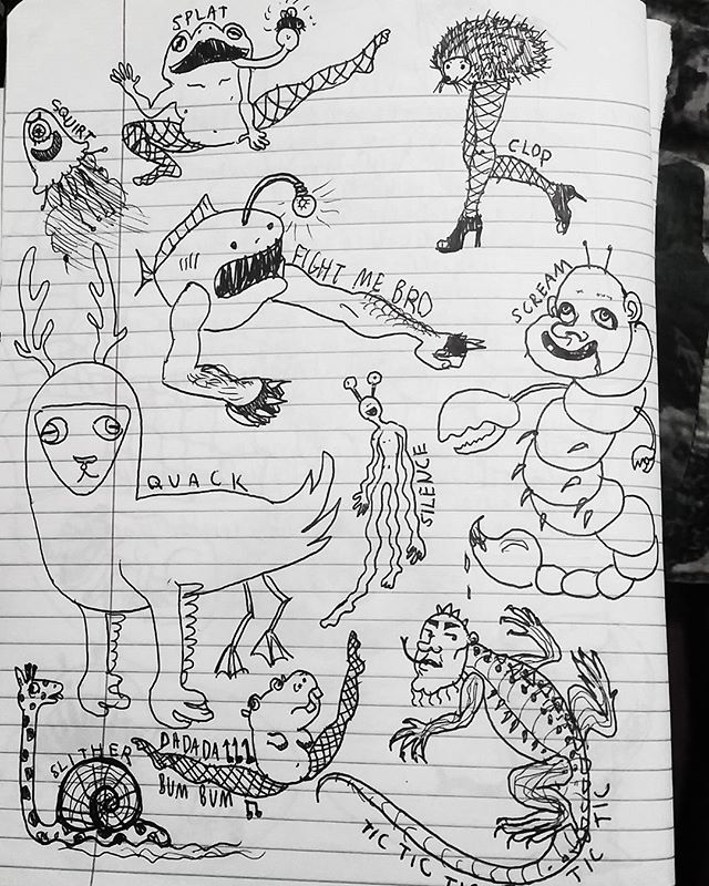 Various noises of various animals