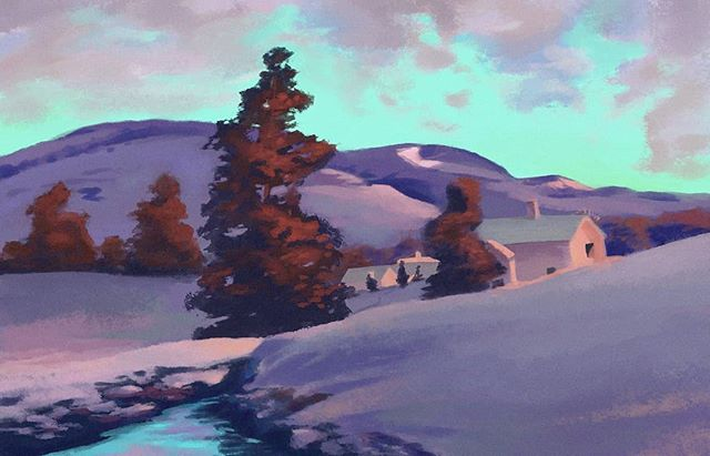 Maxwell Parrish Study
