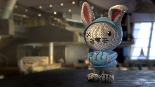 Responsible for FG lighting, Bunny courtesy of TDU
