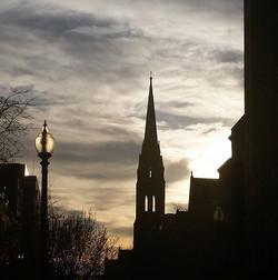 Beautiful evening in Boston! #boston