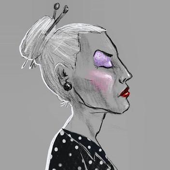 a Karen_#sketch #digitalart #drawing #do