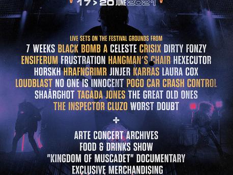 Le Hellfest From Home revient pour une nouvelle édition du 17 au 20 juin 2021!