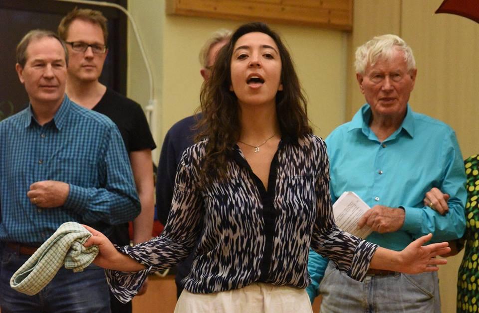 Carmen rehearsals