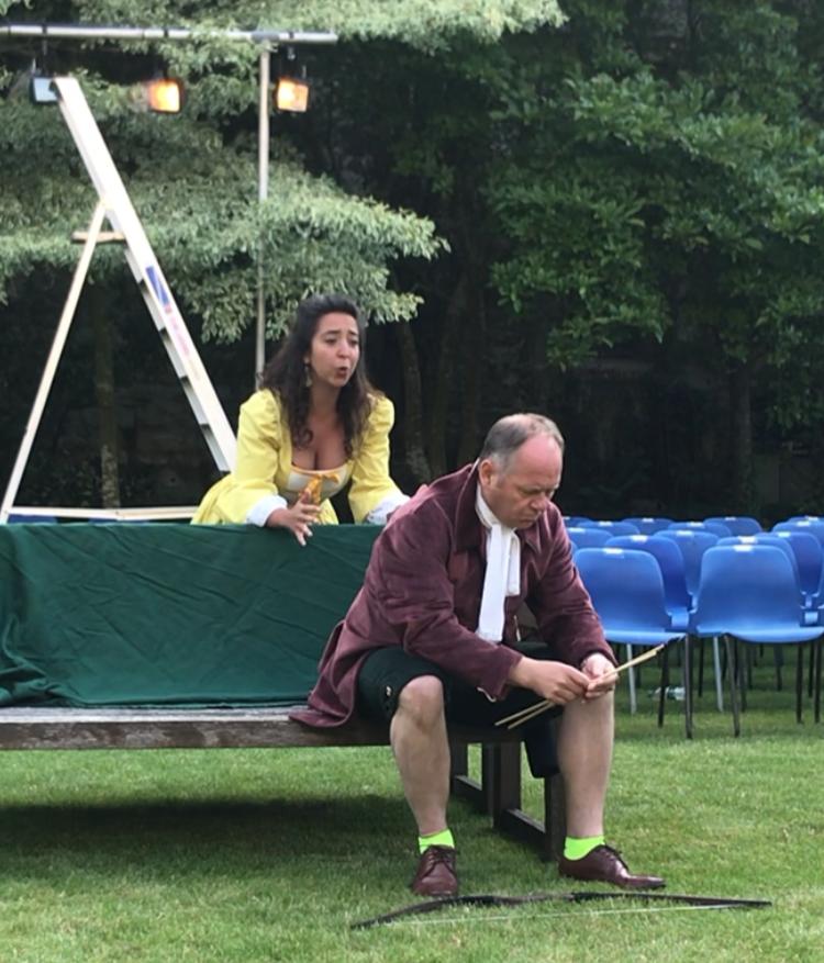 New Chamber Opera Garden Rehearsal