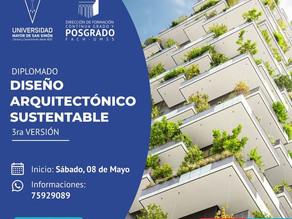 Arquitectonico Sustentable en la FAyCH-UMSS, 8 de Mayo, 2021