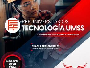 A una cuadra de la UMSS, Cursos Elites en la Matemática y Tecnología para preuniversitarios