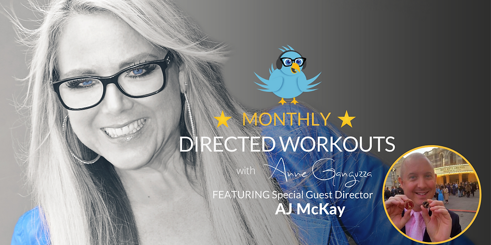 VIPeeps Monthly Directed Workout - September
