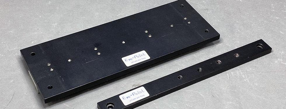 【中古品】EyePoint 鏡筒取付ベース+トッププレート(タカハシ 295mmアリガタ付)