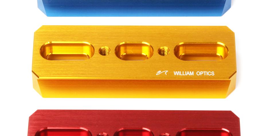 William Optics デュアルサイドアリガタ DSD110mm