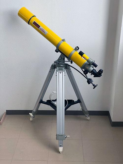 【中古品】Vixen VOYAGER C80M鏡筒 カスタム経緯台三脚セット