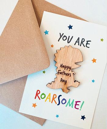 ROARsome Dino card 🦖