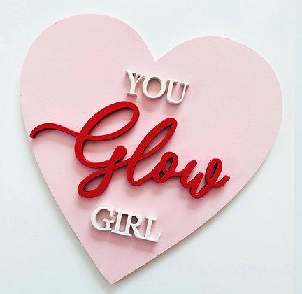 you GLOW girl ✨