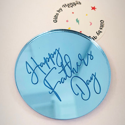 Happy Fathers Day disc