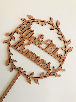 Rustic Wreath Topper