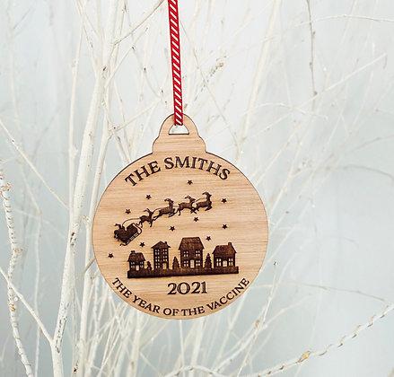 Christmas 2021 Bauble