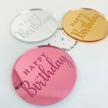 Happy Birthday disc