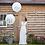 Thumbnail: Mr & Mrs Bruiloft Huwelijks Helium Reuze Ballon 2 stuks inc helium