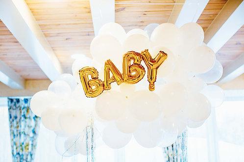 Organic Ballonnenwolk Baby!