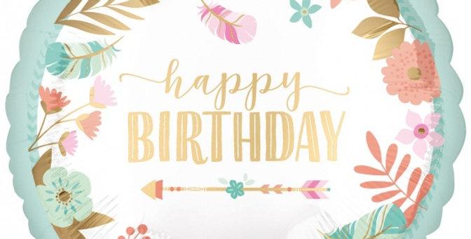 Verjaardagsballon bestellen Almere helium
