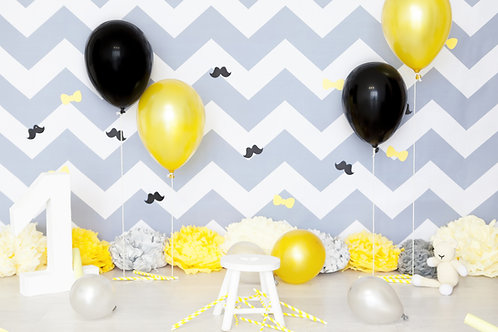 Gewone Metallic Helium Ballon Trend Line  Verschillende Kleuren