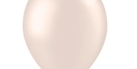 Metallic Helium Ballon Parelmoer inclusief Helium en Lintje