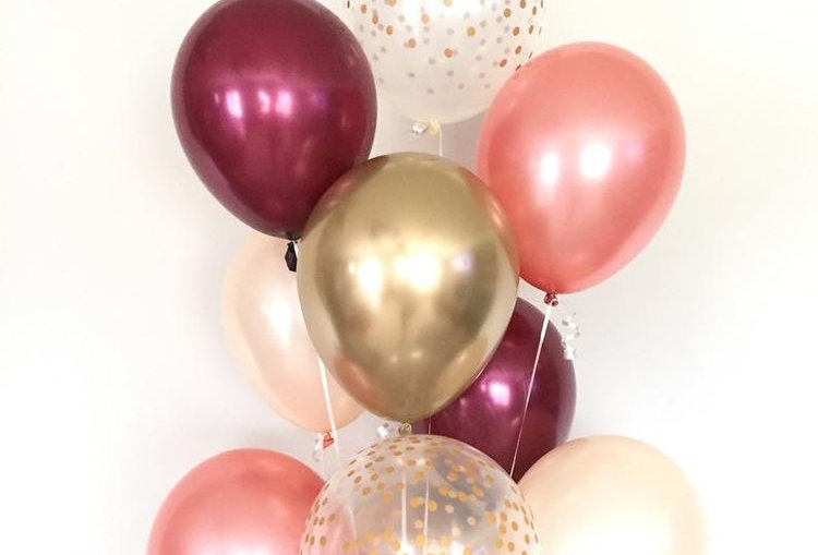 Tros Helium Ballonnen bestellen Almere Berry Field Gold Vip Special