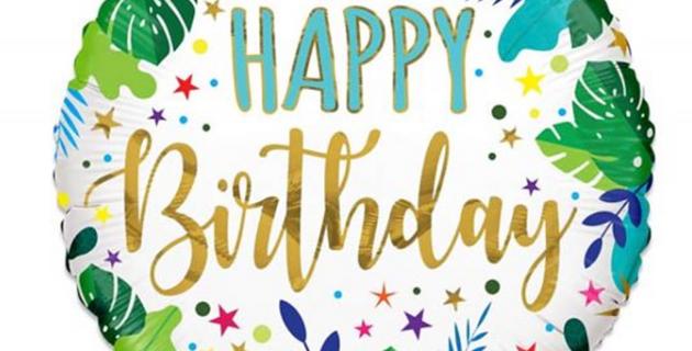 Heliumballon bestellen Almere Verjaardag