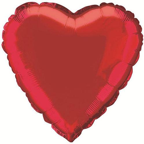 Helium Ballonnen bestellen Almere 7 dagen per week van 09:00 uur tot 22 uur 0610457111 Folie Hart rood helium