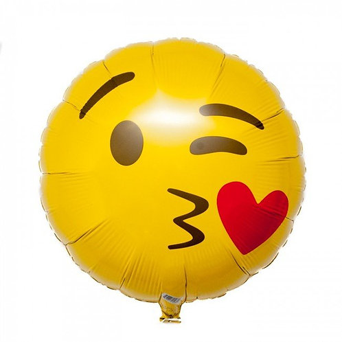 Kussende Emoticon   45 cm