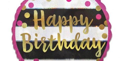 Verjaardags ballon Almere bestellen