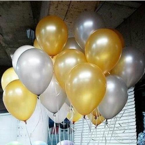 Gewone Metallic Helium Ballon Special Serie