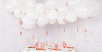 Organic Ballonnenwolk Wit +/- m 1.4 m