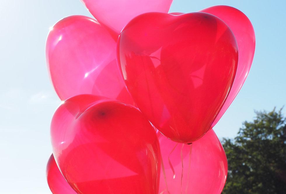 Zelf Hartjes Tros samenstellen vanaf 2.50 per Ballon