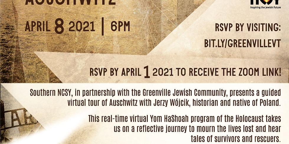 Yom HaShoah Virtual Tour of Auschwitz