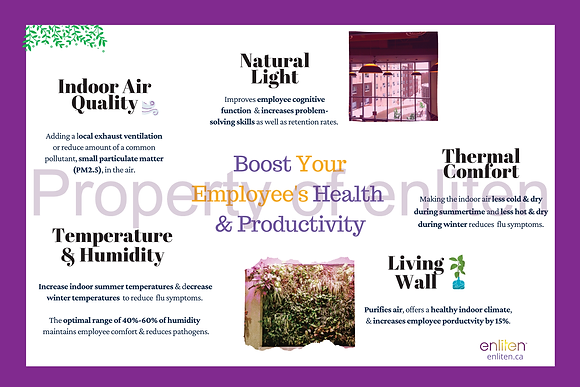 Boosting Employee Health & Productivity Poster