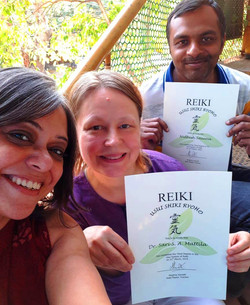 Newly Minted Reiki Masters
