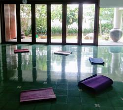 Set up for the Meditation Circle